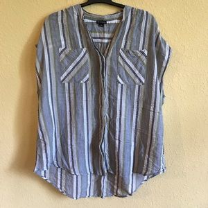 New Directions Button Down Blouse